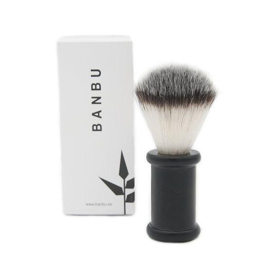 Pincel de Barbear com cabo de aço inoxidável da Banbu