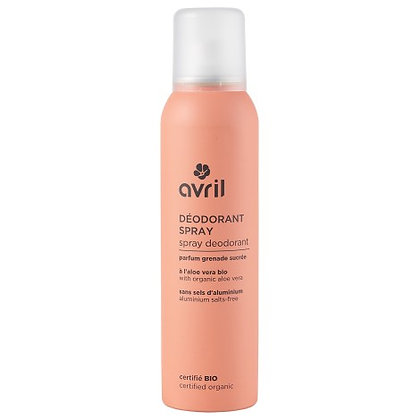 Spray Desodorizante Biológico de Avril