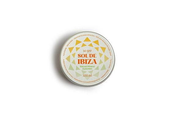 Protetor Solar Natural Sol De Ibiza – SPF 30