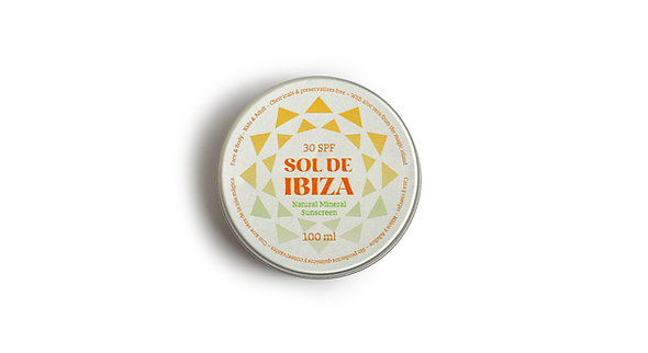Natural Sunscreen Sol De Ibiza - SPF 30
