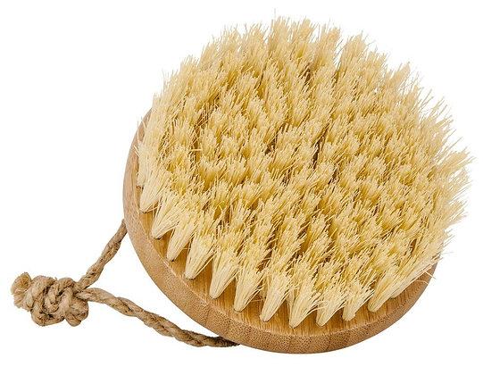 Escova de Massagem de Bambu com Cerdas de Coco da Croll & Denecke