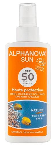 Spray Protector Solar - SPF 50 de Alphanova