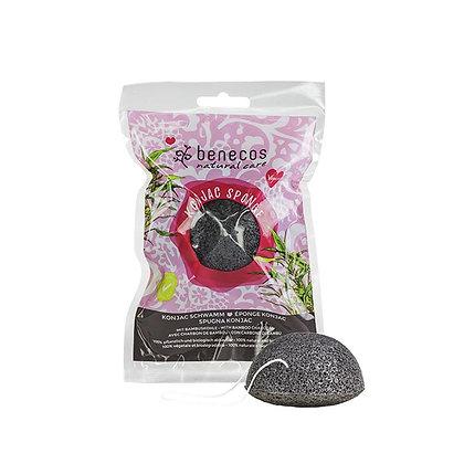 Esponja Konjac c/ Carvão de Bamboo de Benecos