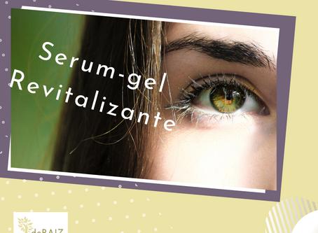 """Serum-gel de Olhos Revitalizante """"3 em 1""""."""