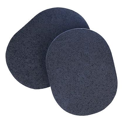 Esponja de Carvão de Bambu_deRAIZ