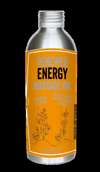 Energia Renovada - Óleo de Massagem | NaturallyThinking