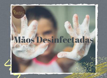 Desinfectante para Mãos                -Faça Você Mesmo