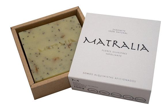 Sabonete Artesanal de Flores Silvestres - Exfoliante | Matralia