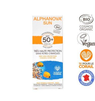 Creme Protector Solar Hipoalergénico para Rosto - SPF 50 da Aplhanova