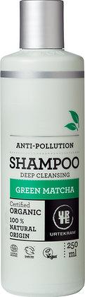 Champô de Chá Verde Matcha (anti-poluição) da Urtekram