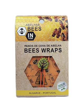 Bees Wraps - Panos de Cera de Abelhas (Individuais)