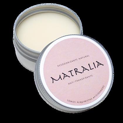 Desodorizante Natural em Creme | Matralia