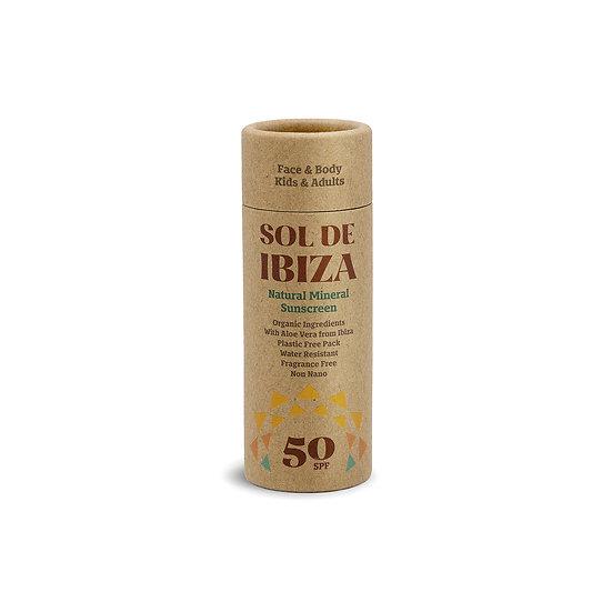 Protetor Solar Natural em Stick - SPF 50