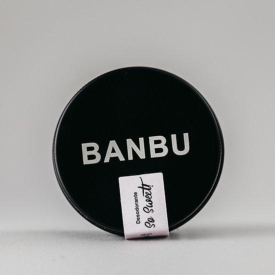 Desodorizante Creme   So Sweet   Banbu