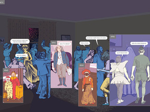 A distorção do espaço-tempo como forma narrativa