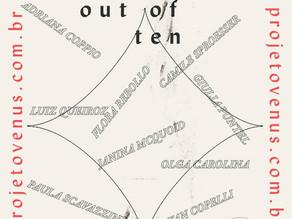 Em clima de celebração, 'Nine out of Ten' inaugura vernissage virtual com nove artistas