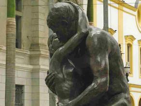 De William Zadig, O Beijo Eterno é uma efígie do amor proibido
