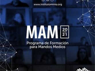 Inscripciones abiertas para el Programa de Formación para Mandos Medios 2021