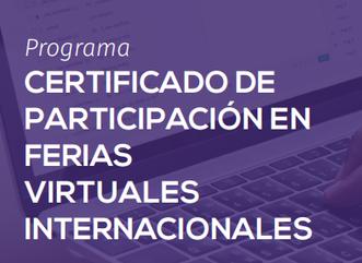 ATENCIÓN BOLIVIA - Programa Certificado en Ferias Virtuales Internacionales