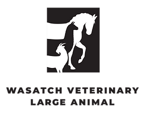 Wasatch Veterinay Large Animal Logo