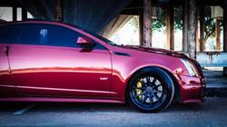 CTS-V coupe Side