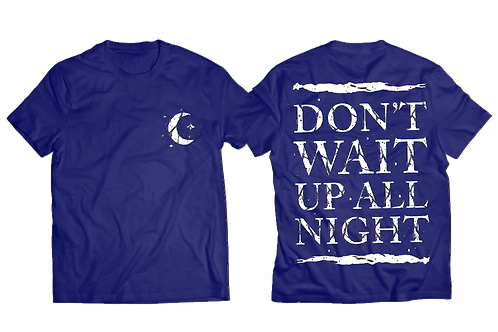 Why Not Tee - Navy Blue