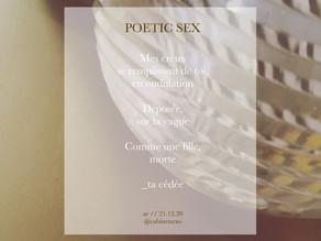 Est-ce que le sexe est poétique ?