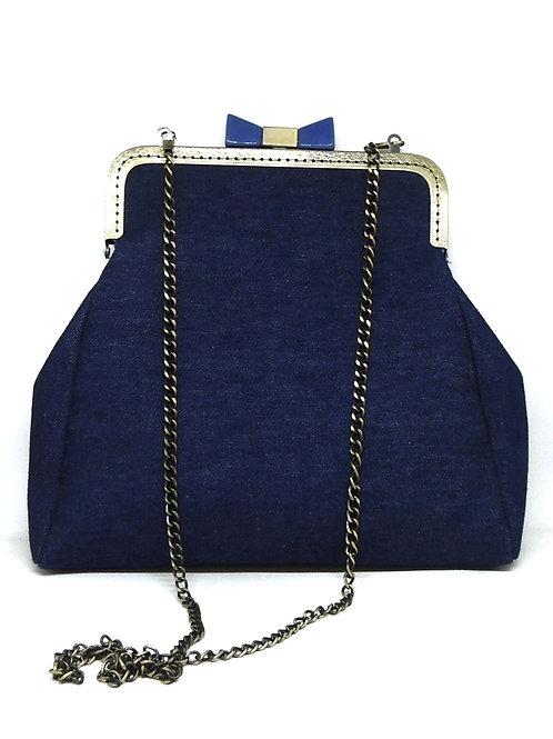 Blue Jean Vintage Frame Bag