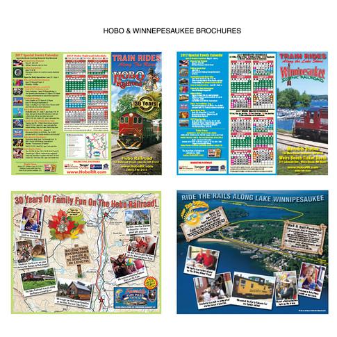 Hobo & Winnipesaukee Railroads Brochures
