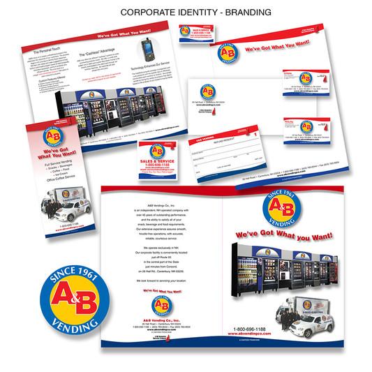 A&B Vending Corporate Identity