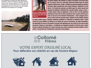 [Presse] Journal France-Antilles – Edition Cyclone