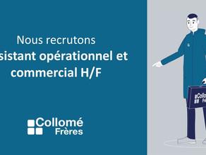 [Recrutement] Assistant opérationnel et commercial H/F