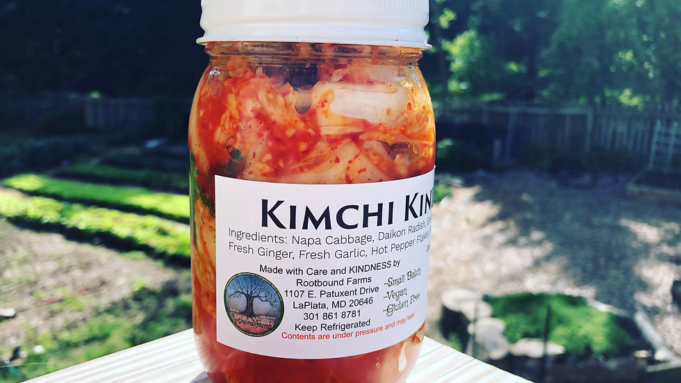 Country Style Kimchi 16 oz