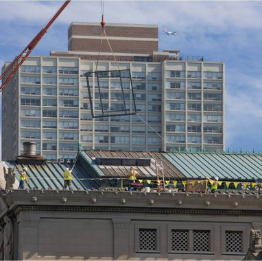 Skylight Replacement at the Museum of Science & Industry Chicago