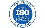ISO 9001:2015 logo