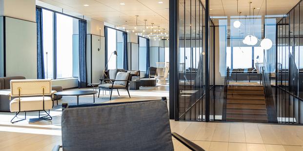 Willis Tower Amenity Spaces