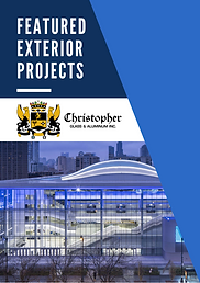 Featured Exterior Projects company brochure