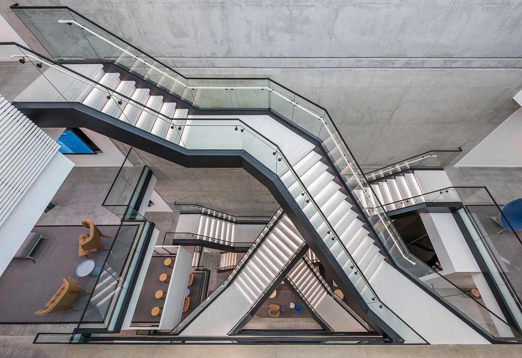 McDonald's Global Headquarters Staircase