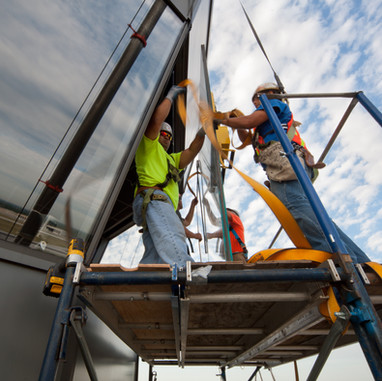 Air Traffic Control Tower Cab Glass Replacement