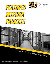 Featured Interior Projects company brochure