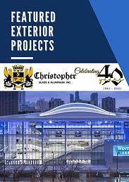 Christopher Glass & Aluminum Featured Ex