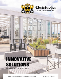 Introduction of Christopher Glass and Aluminum Brochure