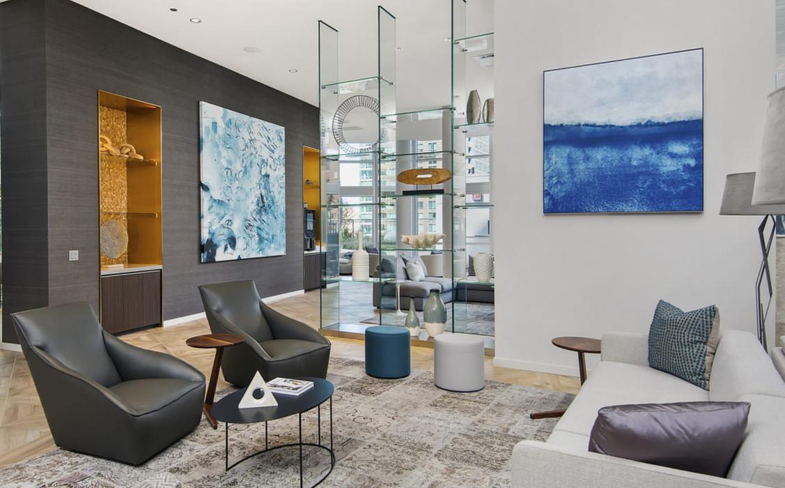 465 North Park Resident Lounge
