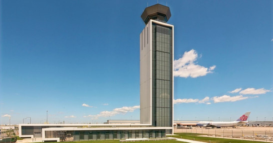 O'Hare International Airport South Air Traffic Control Tower