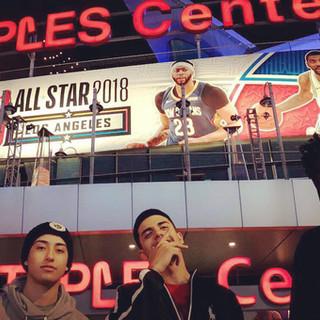 Road Trip - Staples Center