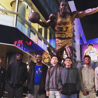 Road Trip - Magic Johnson Statue