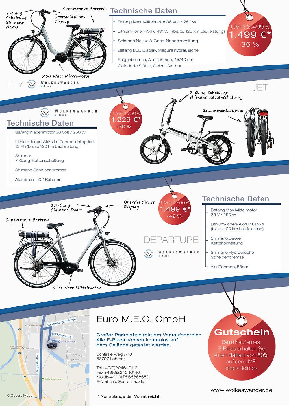 Euro M.E.C.  SSV Ebike Flyer