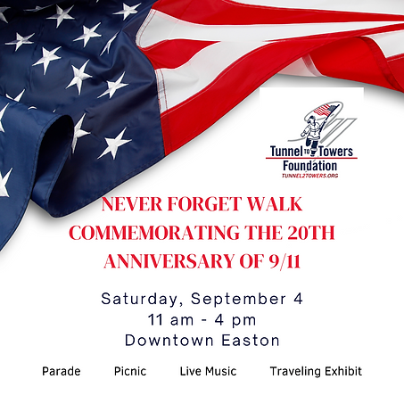 Never Forget Walk Commemorating the 20th Anniversary of 911.png