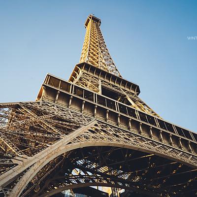 巴黎_羅浮宮、艾菲爾鐵塔