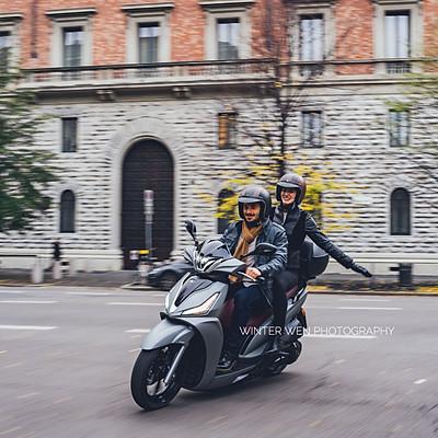 KYMCO x Italy_Milano